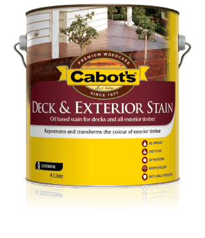 Cabot's® Deck & Exterior Stain (Oil Based)