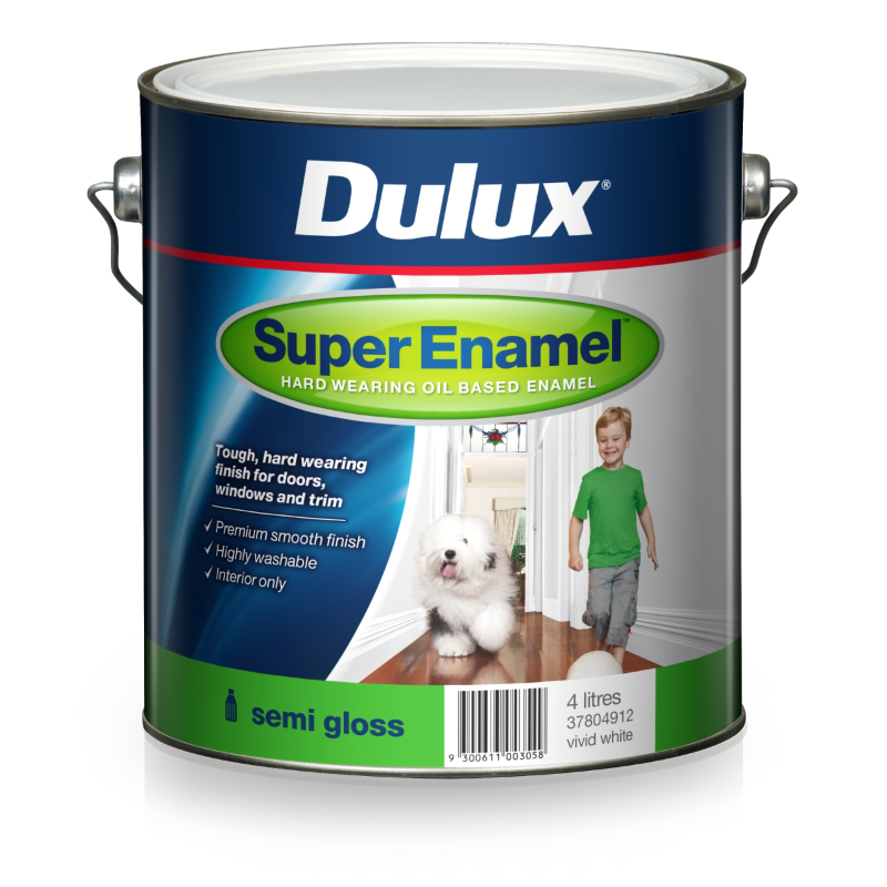 Dulux® Super Enamel Semi Gloss