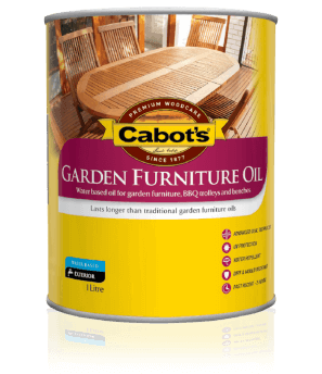 Cabot's® Garden Furniture Oil (Water Based)